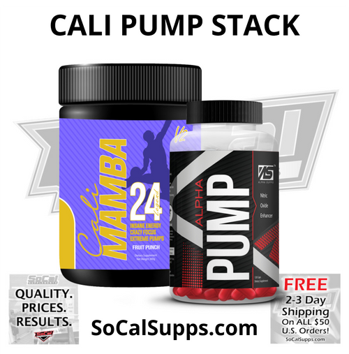CALI PUMP STACK: Intense Energy & Pumps