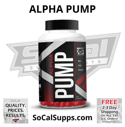 ALPHA PUMP: Nitric Oxide Enhancer