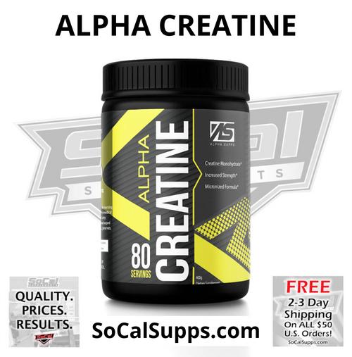 ALPHA CREATINE: Creatine Monohydrate