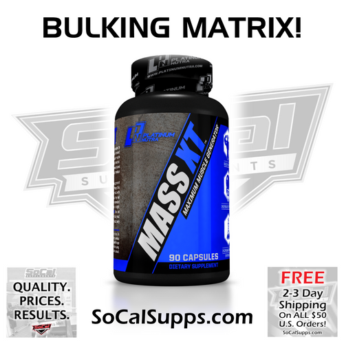 MASS-XT: 1-Andro Strength Builder