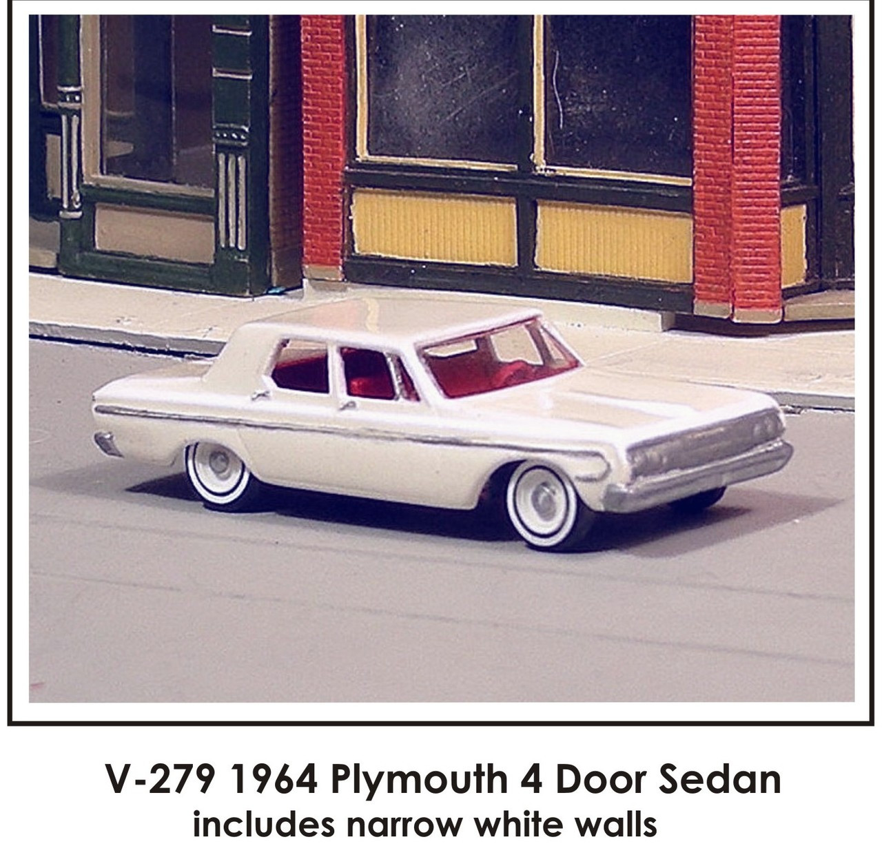 Ho 1 87 Sylvan V 279 1964 Plymouth Belvedere 4 Door Sedan Kit Truck Stop Hobbies 1 87