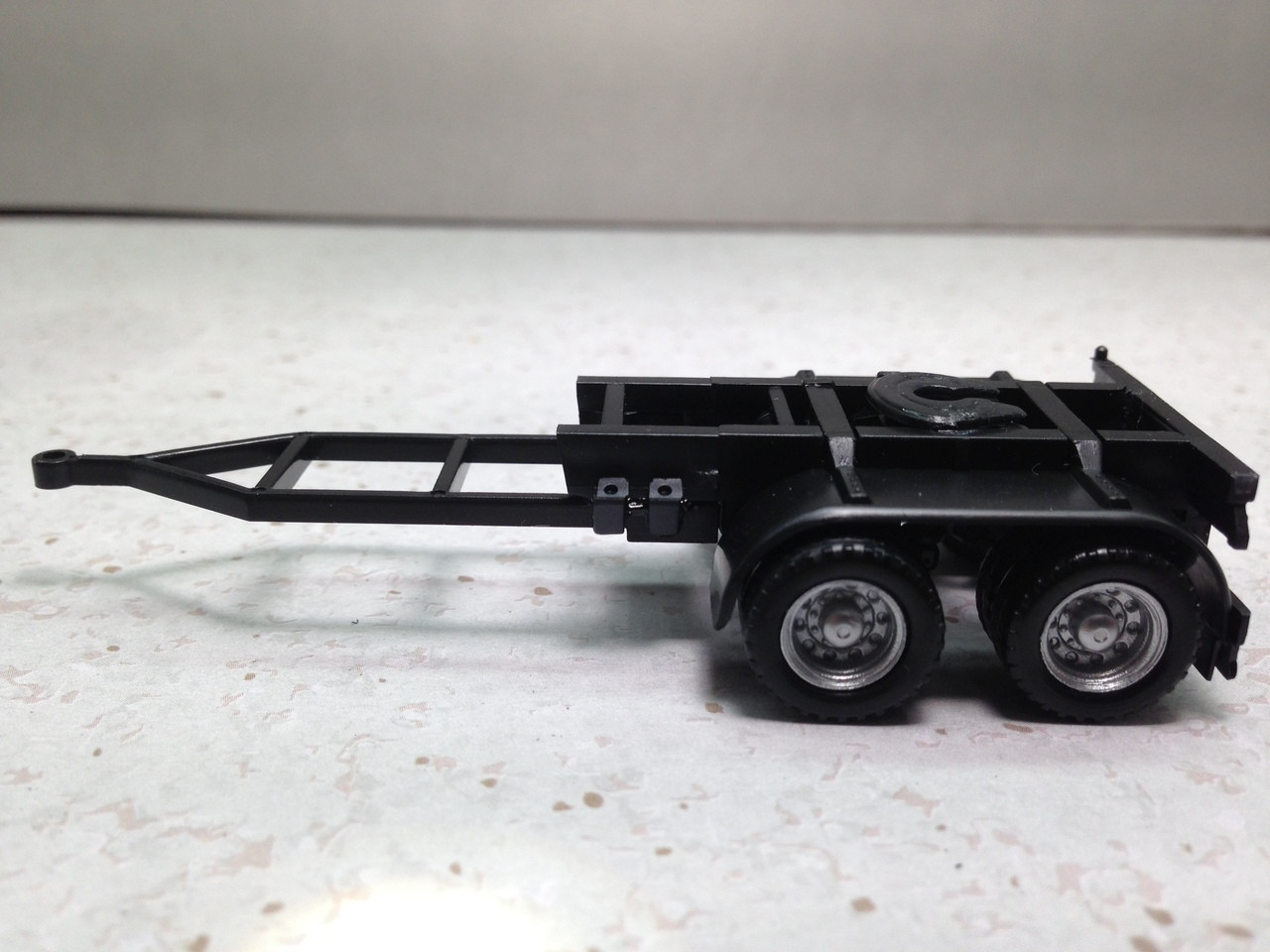 HO 1//87 Promotex  # 460010 Dual Axle Converter Truck Dolly-A-Train