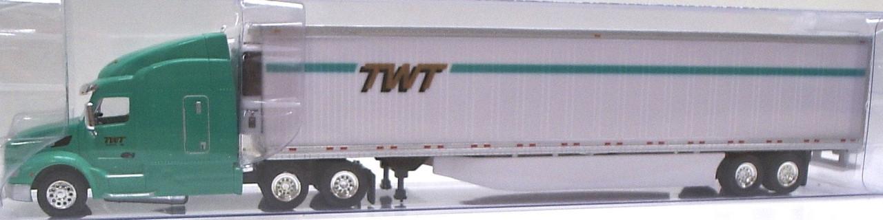 Peterbilt 579 Sleeper Cab w//53/' Dry Van Knight Transportati HO 1:87 TNS #018