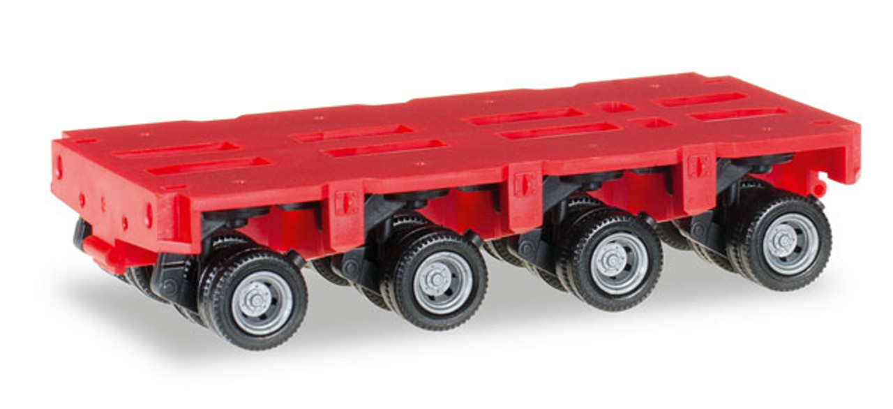 RED K100 5 BAR GRILL TRUCK HERPA 1//87 Plastic HO Scale 25257