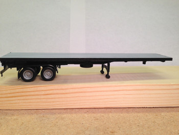 HO 1/87 Promotex  # 5276 - 40' - 2 axle Flatbed Truck Semi Trailer