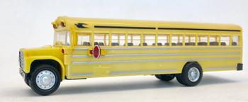 HO 1:87 Promotex # 6100  International Harvester Yellow  Schoolbus, No Name