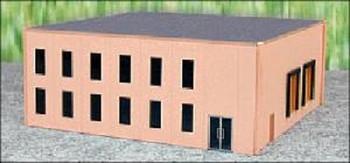 HO 1:87 Promotex # 6324  Modern Office Tilt-up Building Kit - Sand