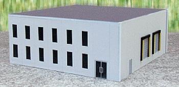 HO 1:87 Promotex # 6325  Modern Office Tilt-up Building Kit - Gray