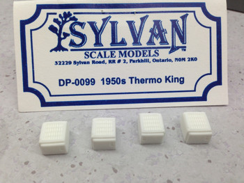 HO 1:87 Sylvan Scale Models # DP-0099 1950s Thermo King Reefer Units (4)