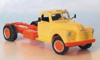 HO 1:87 Sylvan Scale Models # V-079 1948-53 Chev Cab & Chassis KIT