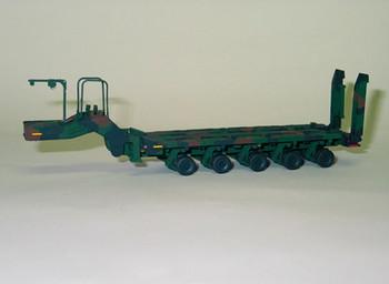 HO 1:87 Trident # 81002- M1000 - 5-Axle Heavy-Duty Trailer (Resin & Metal KIT)