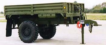 HO 1:87 Trident # 81009 - M1082 LMTV Single-Axle 2.5-Ton Trailer Use w/LMT(KIT)