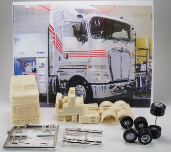 HO 1:87 # 3051 Kenworth K 200 COE Tractor Resin KIT w/chassis & all details
