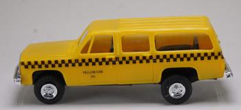 HO 1/87 Trident # 90167 Chevrolet Suburban 4 x 4  - Taxi - Yellow Cab