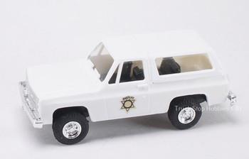 HO 1:87 Trident # 90273 Chevy Blazer 4 x 4 Sheriff Department
