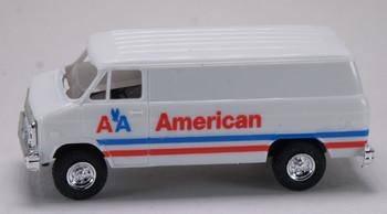 HO 1/87 Trident # 90345 Chevrolet Cargo Van - American Airlines