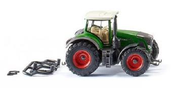 HO 1/87 Wiking # 36148 Fendt 939 Vario Tractor - Green, White, Red