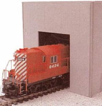 HO 1:87  Promotex # 6323 Warehouse Single-Bay Building Kit - Gray