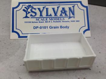 HO 1:87 Sylvan DP-0101 - Grain Body ONLY KIT