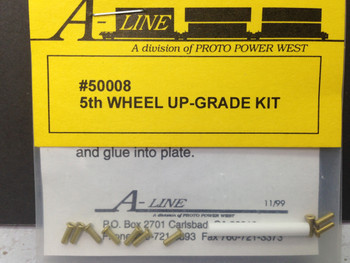 HO 1/87 A-Line # 50008 5th Wheel Upgrade Kit