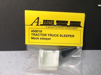 HO 1/87 A-Line # 50019 Mack Tractor Truck Sleeper