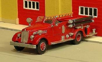 HO 1:87 Sylvan V-255 - 1946-51 Seagrave Open Cab Pumper KIT