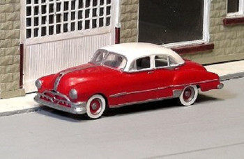 HO 1/87 Sylvan # V-215 - 1951 Pontiac 4-Door Sedan KIT