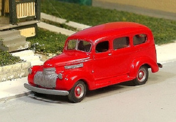 HO 1:87 Sylvan Scale Models # V-203 - 1941-47 Chevy Suburban KIT