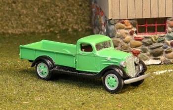 HO 1:87 Sylvan Scale Models # V-194 1936 Chevy 1-1/2 Ton Pickup KIT