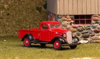 HO 1:87 Sylvan Scale Models # V-193 - 1936 Chevy 1/2 Ton Pickup KIT