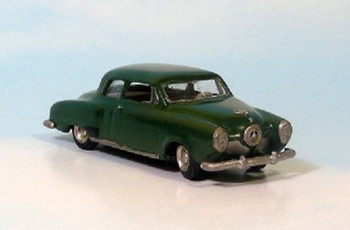 HO 1/87 Sylvan # V-125 - 1949-53 Studebaker 2-Door Sedan KIT