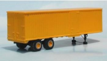 HO 1/87 Sylvan Scale Models # T-004 -34' Fruehauf Tandem Trailer w/Side Door KIT