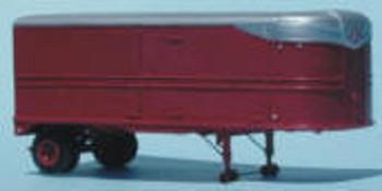HO 1:87 Sylvan # T-006 - 26' Fruehauf Aero Van Trailer w/side doors KIT