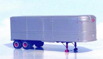 HO 1:87 Sylvan T-009 - 32' Fruehauf Aerovan Drop Deck Trailer - 1941-46 KIT