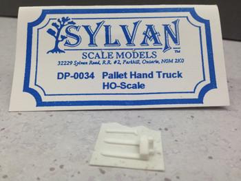 HO 1/87 Sylvan Scale Models # DP-0034 Pallet Hand Truck