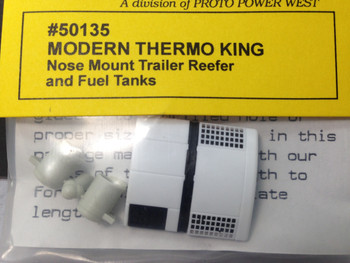 HO 1/87 A-Line # 50135 Modern Thermo King Reefer w/Fuel Tanks