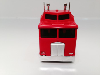 HO 1:87 Promotex # 25258 KW K-100 1 Bar Grill Tandem Semi Tractor Red