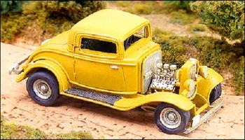 HO 1:87 GHQ # 63001 - 1932 Ford Hot Rod KIT
