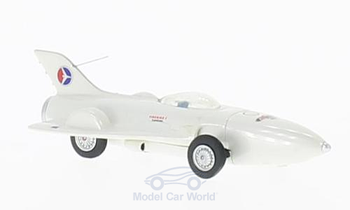 HO 1/87 BOS # 87280 - 1953 GM Firebird I, metallic-white