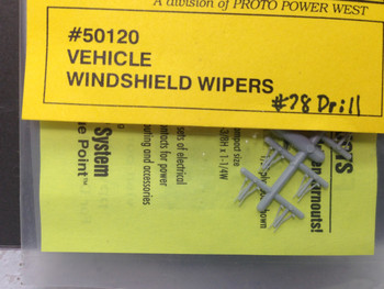 HO 1/87 A-Line # 50120 Windshield Wipers