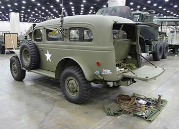 HO 1:87 Trident # 87179 - Dodge WC53 Radio Car - Resin Kit -United States Army