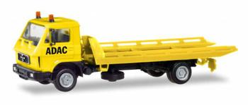 HO 1/87 Herpa # 94191 MAN G 90 Wrecker w/Platform - Yellow ACDC