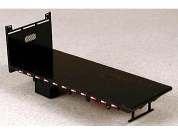 HO 1:87 Lonestar # 5210 Lumber Bed Body KIT - Black