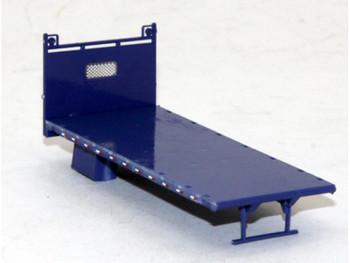 HO 1/87 Lonestar # 5213 Lumber Bed Body - Painted Blue
