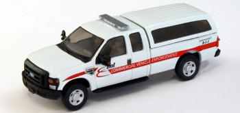 HO 1:87 RPS # 538-5297.P8 Ford F-250 XLT SRW Pickup - DOT White w/ Black trim