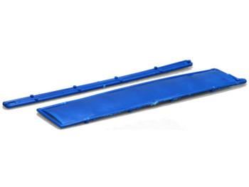 HO 1/87 Lonestar # 12115 Wilson '43 Grain Trailer Tarp Set - Dark Blue