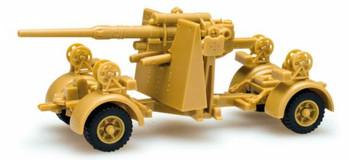 HO 1:87 Minitanks # 741583 - 8.8cm Anti-Aircraft Gun, Type 36/37 740 Former German Army
