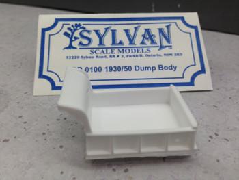 HO 1:87 Sylvan DP-0100 - 1930/50 Dump Body ONLY KIT