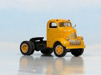 HO 1:87 Sylvan Scale Models # V-114 - 1941-47 Chevy 2 COE Highway Tractor KIT