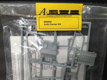 HO 1:87 A-Line # 50605 Auto Carrier Trailer KIT